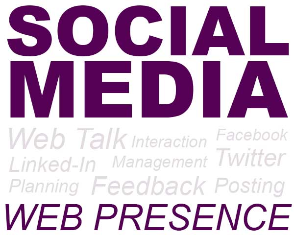 Web presence and social media management