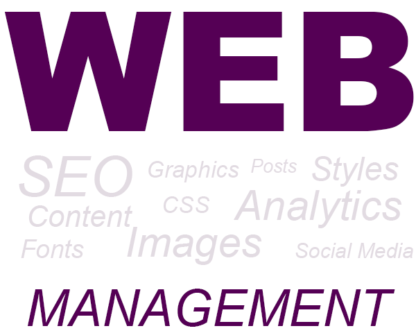 Web management graphic