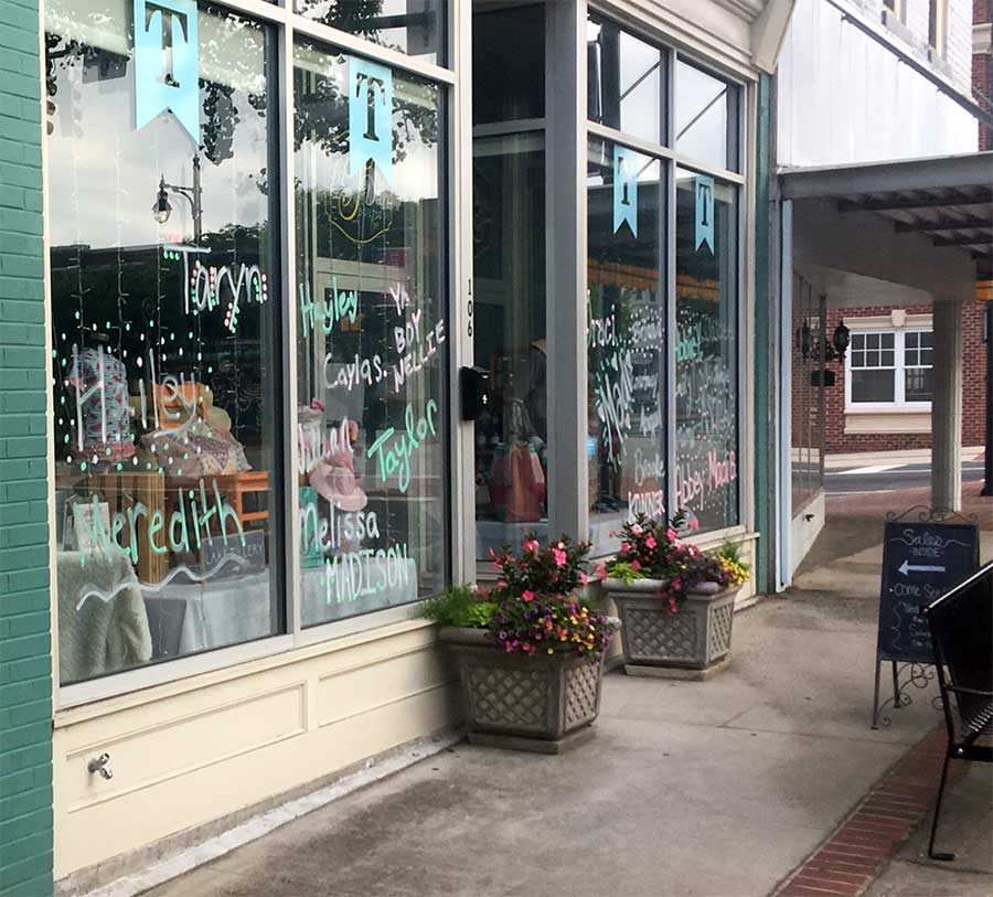 Small business store front website picture