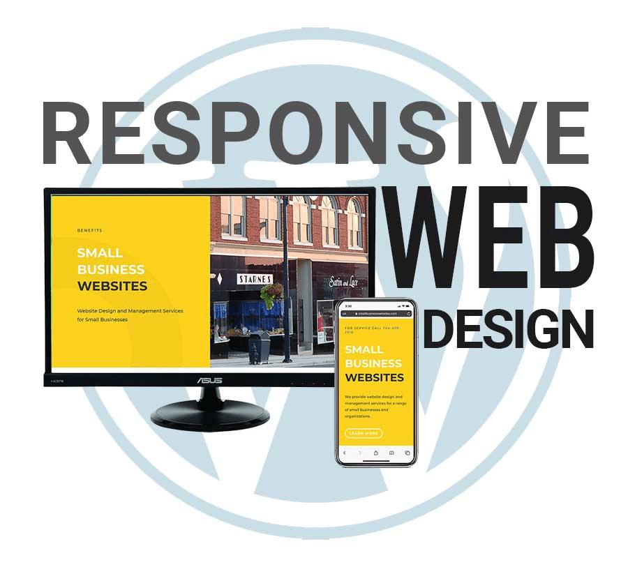 Responsive website design helps SEO.