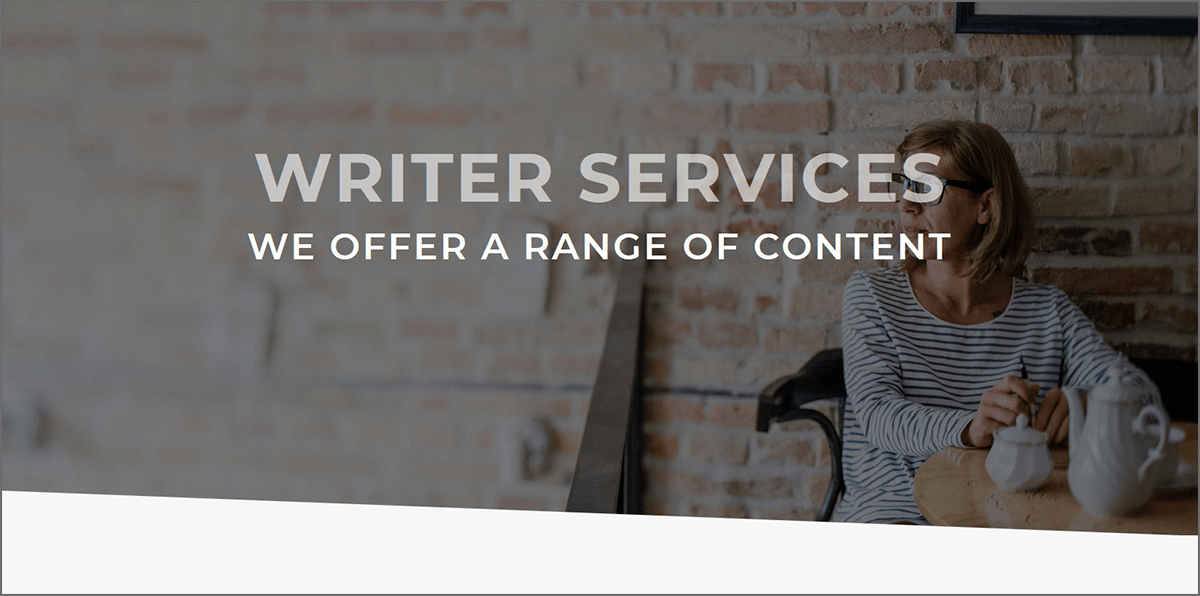 Writer Services Site