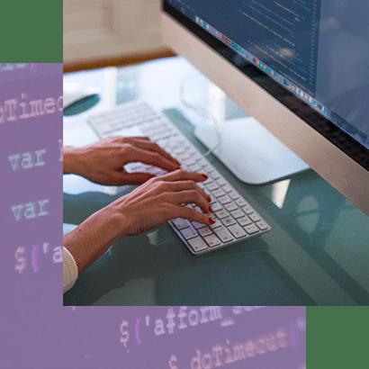 Web design worker