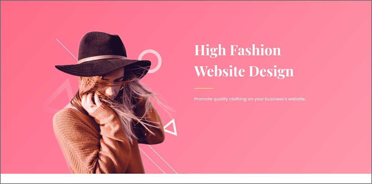 Fashions website